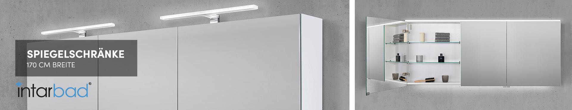 170 cm Spiegelschränke