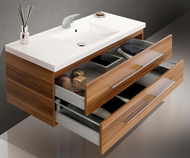 Design badm bel set waschtisch 120 waschbecken - Designer badmobel ...