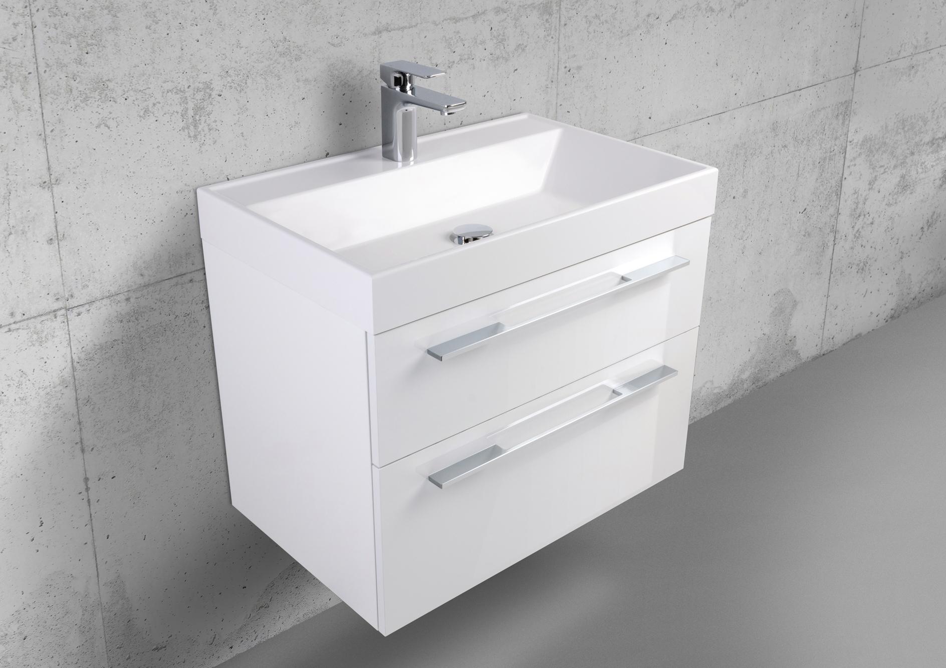 design badm bel 70 cm waschtisch mit unterschrank und. Black Bedroom Furniture Sets. Home Design Ideas