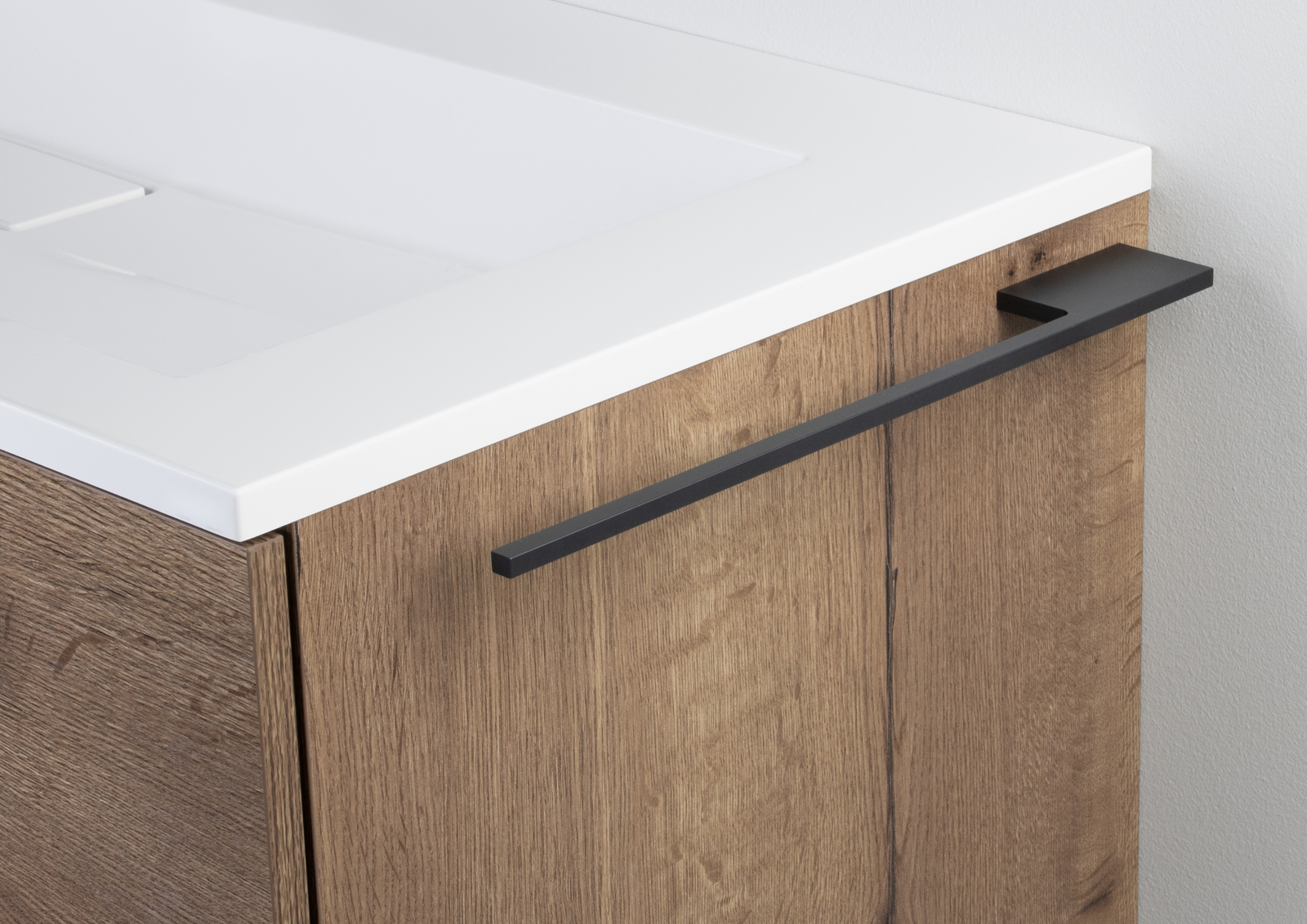 Handtuchhalter Bad Anthrazit Accessoires Design