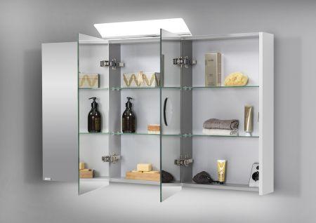 120 cm Spiegelschrank
