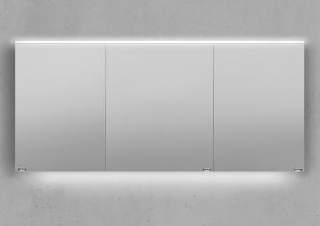 160 cm Spiegelschrank