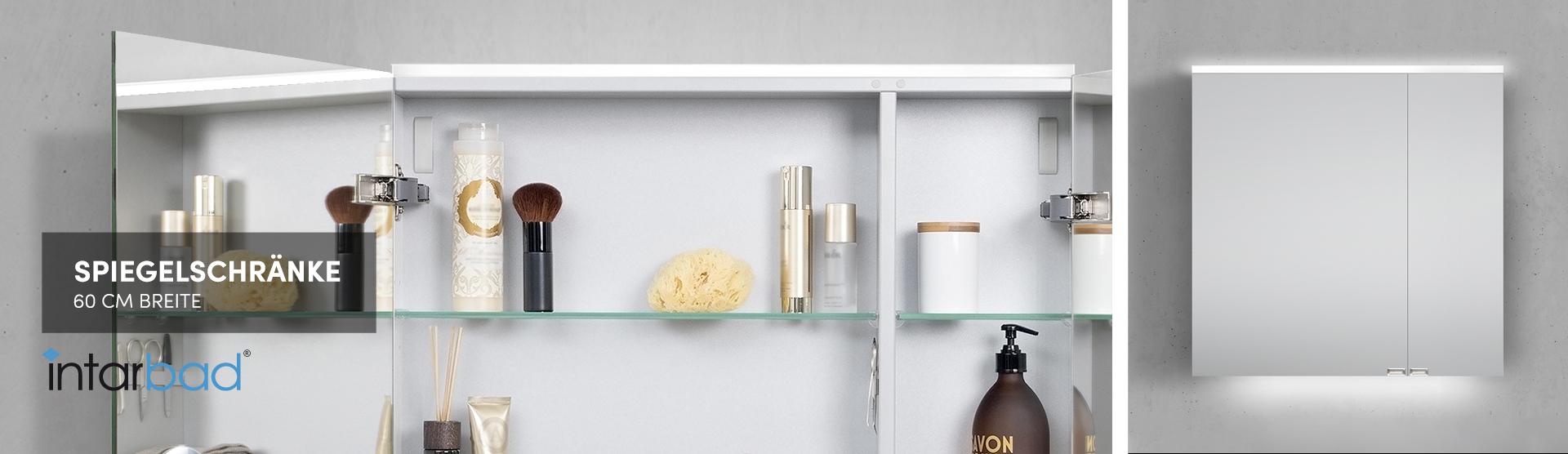 60 cm Spiegelschränke