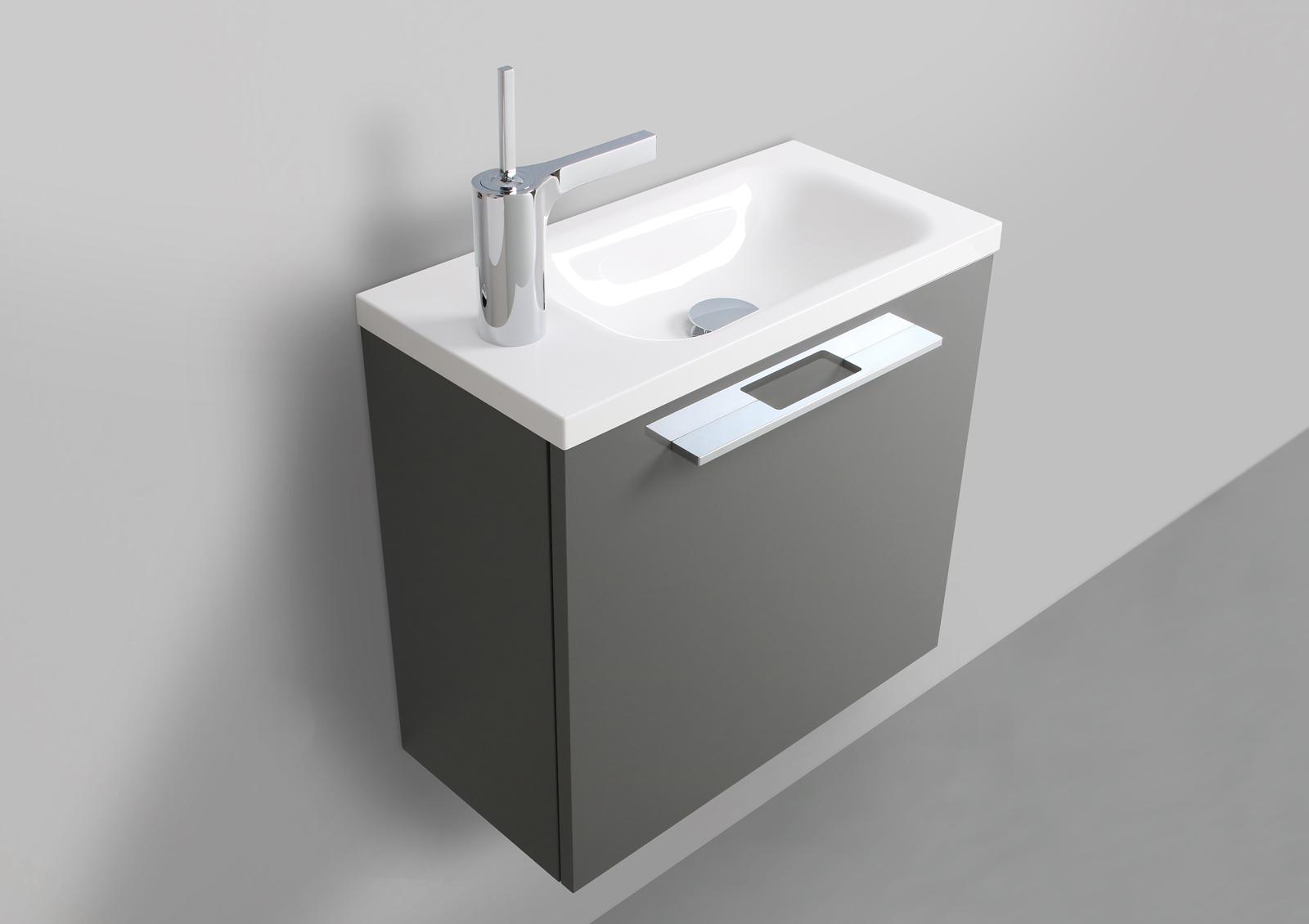 Intarbad Rimini Gaste Badmobel Waschbecken 500x250mm Designbaeder Com