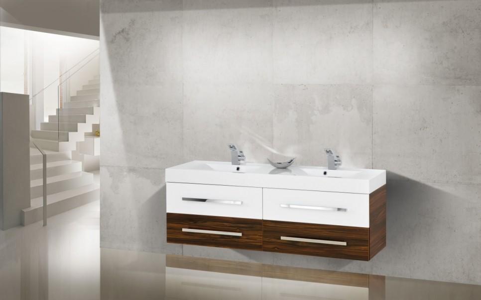 doppelwaschtische mit unterschrank. Black Bedroom Furniture Sets. Home Design Ideas