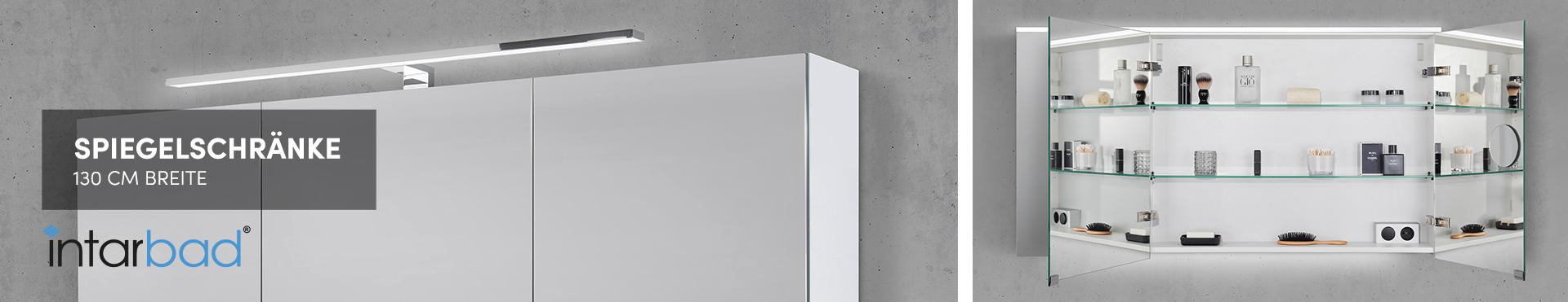 130 cm Spiegelschränke