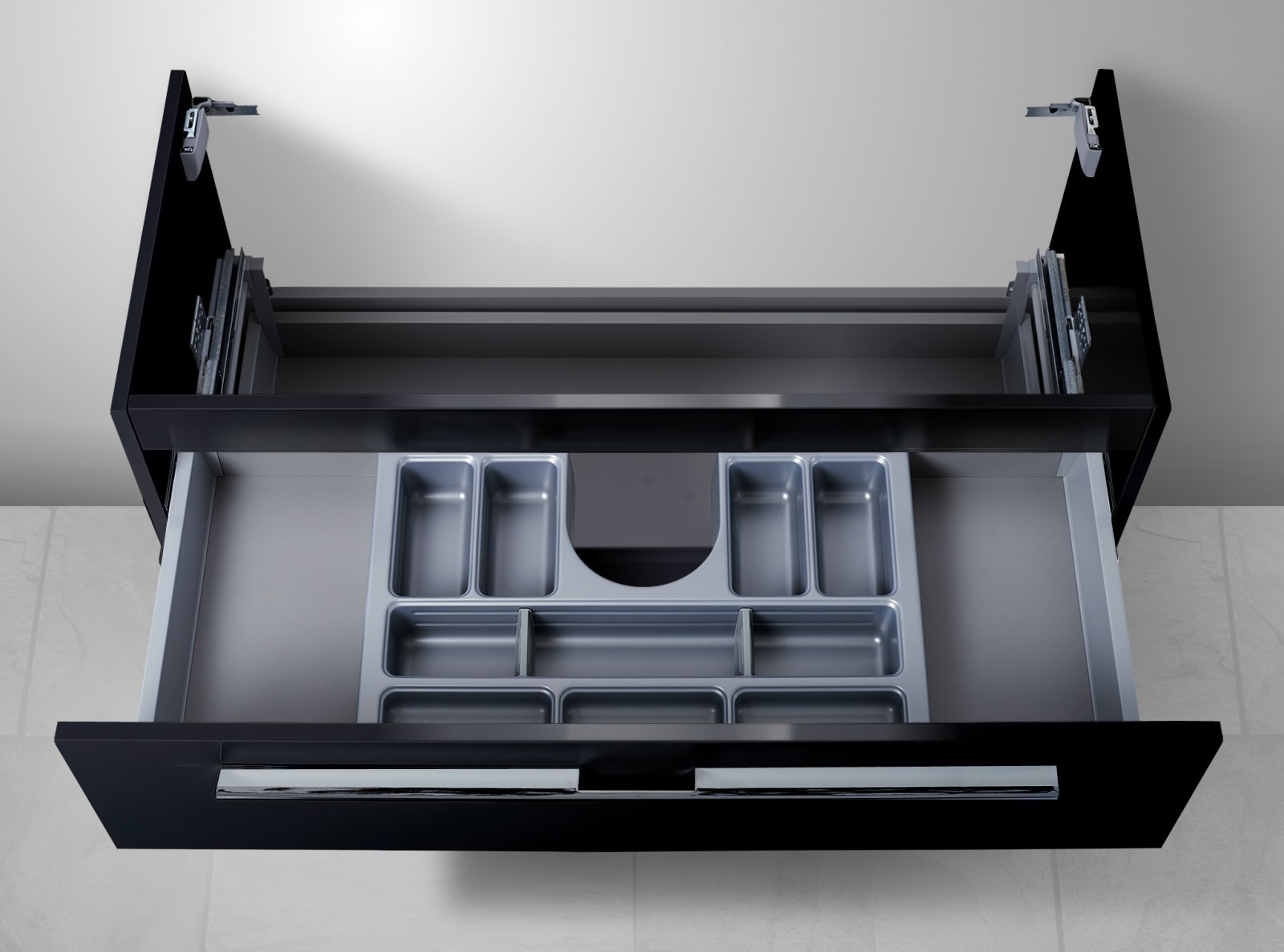 Waschtisch unterschrank f r keramag smyle 120 cm for Waschtisch mit unterschrank 120 cm