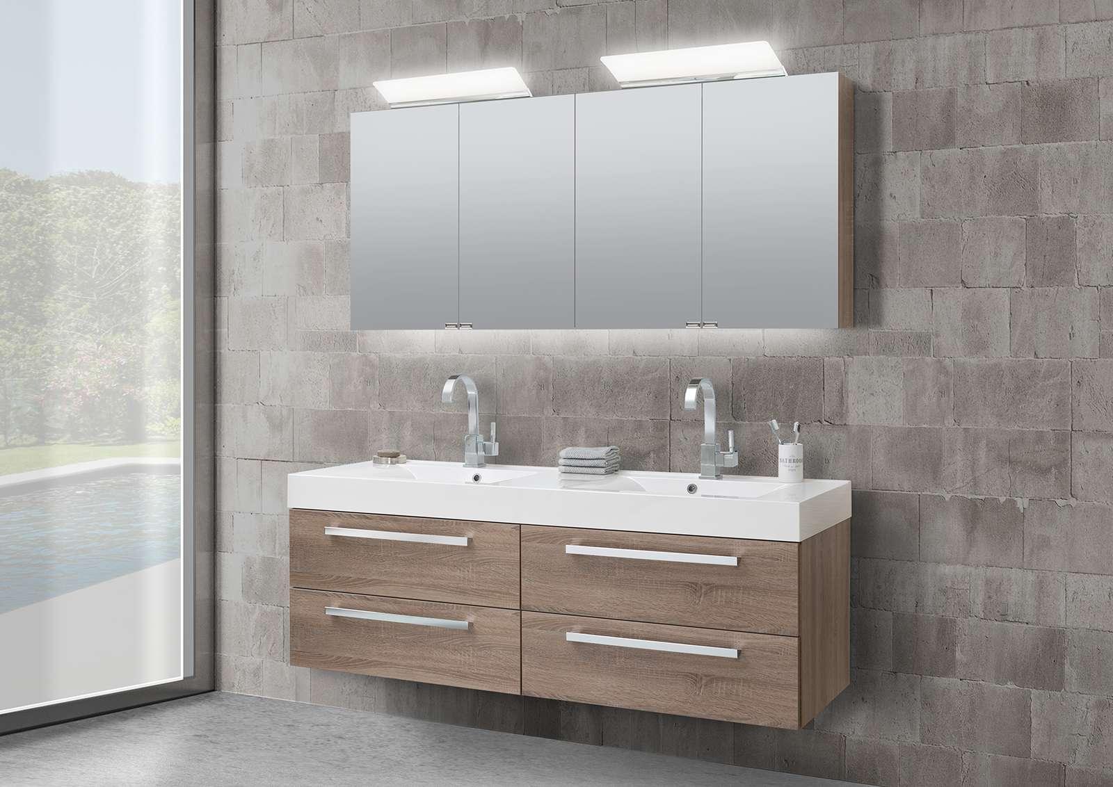 Doppelwaschbecken mit unterschrank und spiegelschrank  Keramag Icon Unterschrank Montageanleitung: Spiegelschrank 140 cm ...