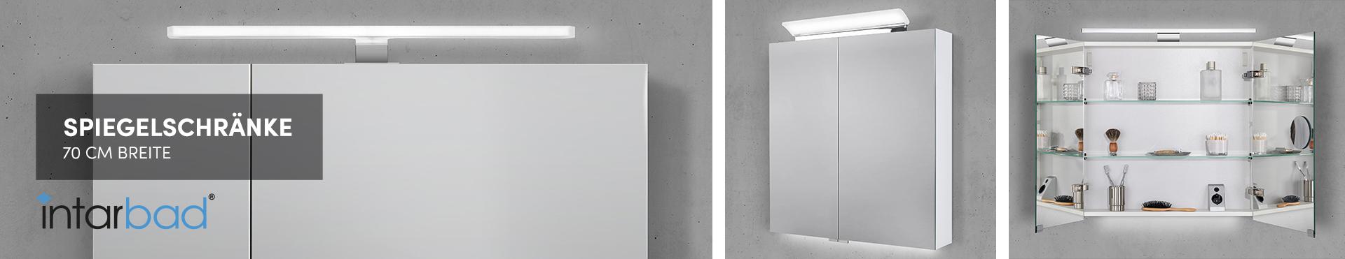70 cm Spiegelschränke