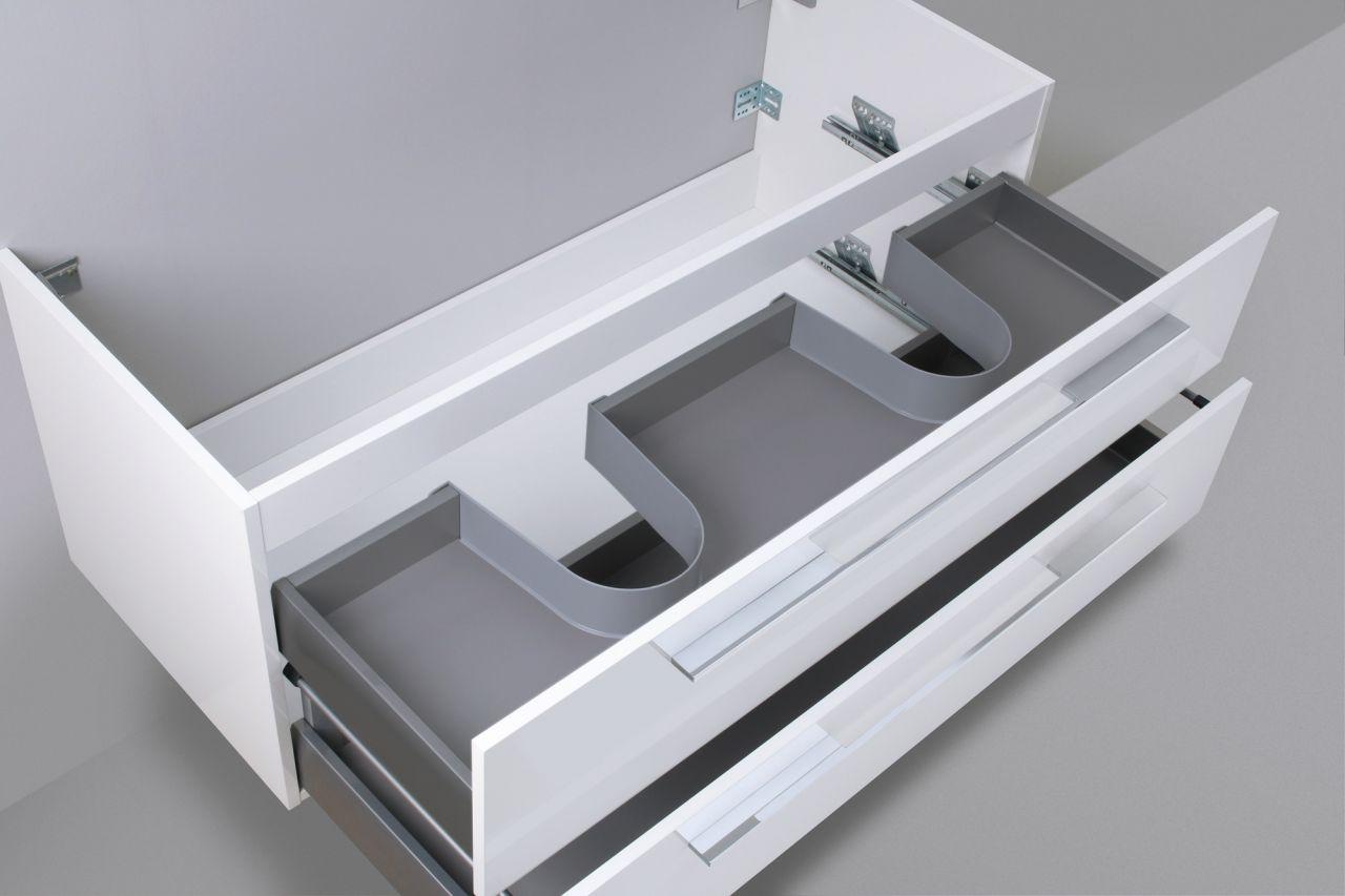 waschtisch unterschrank zu duravit starck 3 doppelwaschtisch 130 cm waschbeckenu ebay. Black Bedroom Furniture Sets. Home Design Ideas