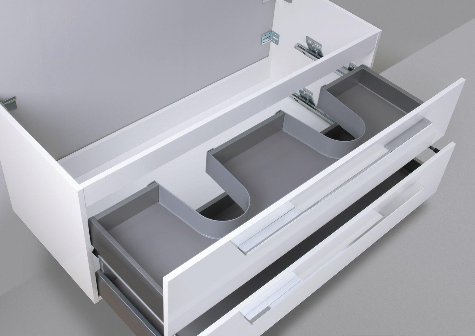 Waschtisch Unterschrank zu Laufen Pro S Doppelwaschtisch 130 cm ... | {Doppelwaschtisch duravit 71}