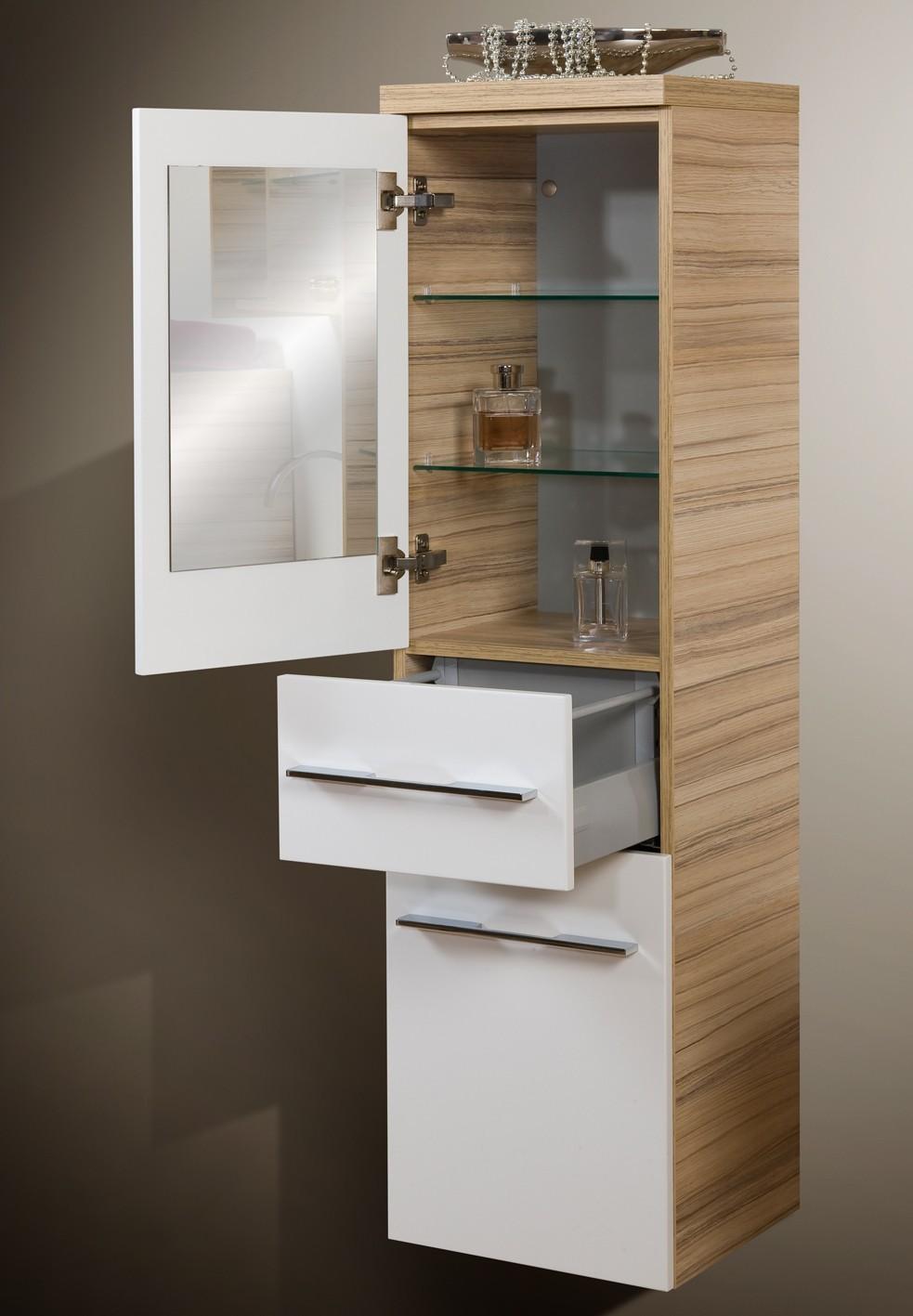 Design badm bel set waschtisch lichtspiegel 90 cm - Designer badmobel ...