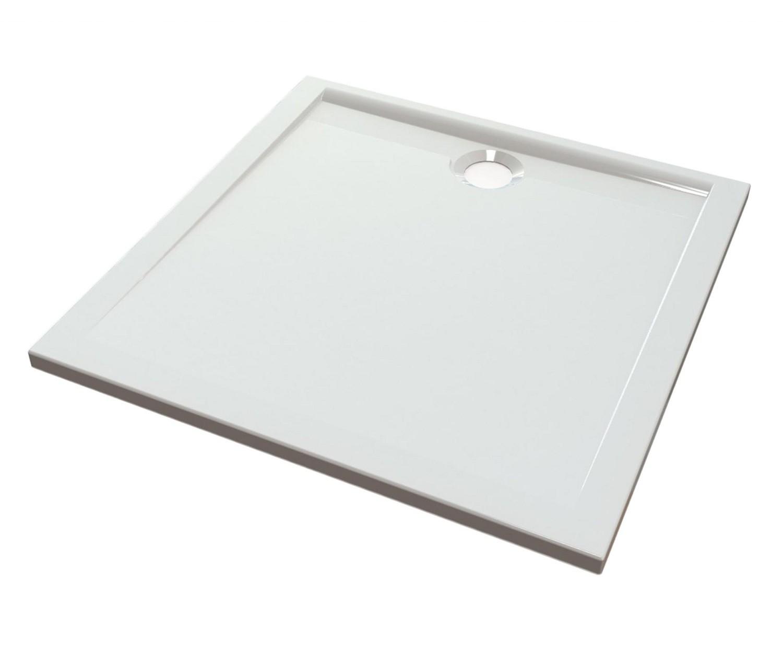 duschwanne 90x90 cm messina mineralguss viereck flach. Black Bedroom Furniture Sets. Home Design Ideas
