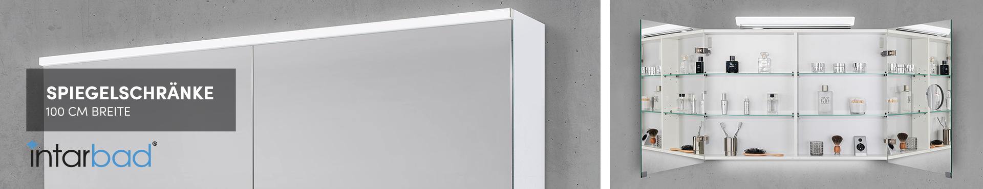100 cm Spiegelschränke
