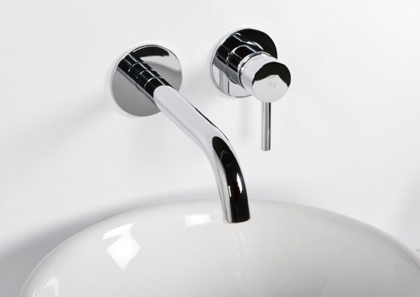 Steinberg Serie 100 Waschtisch-Wand-Einhebelmischer Intarbad