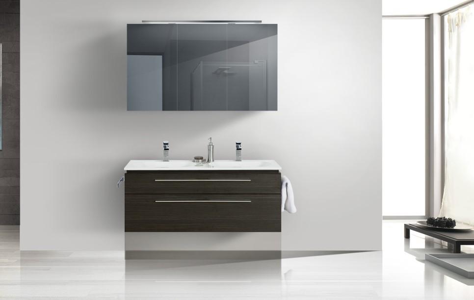 Badezimmer Spiegelschrank 90