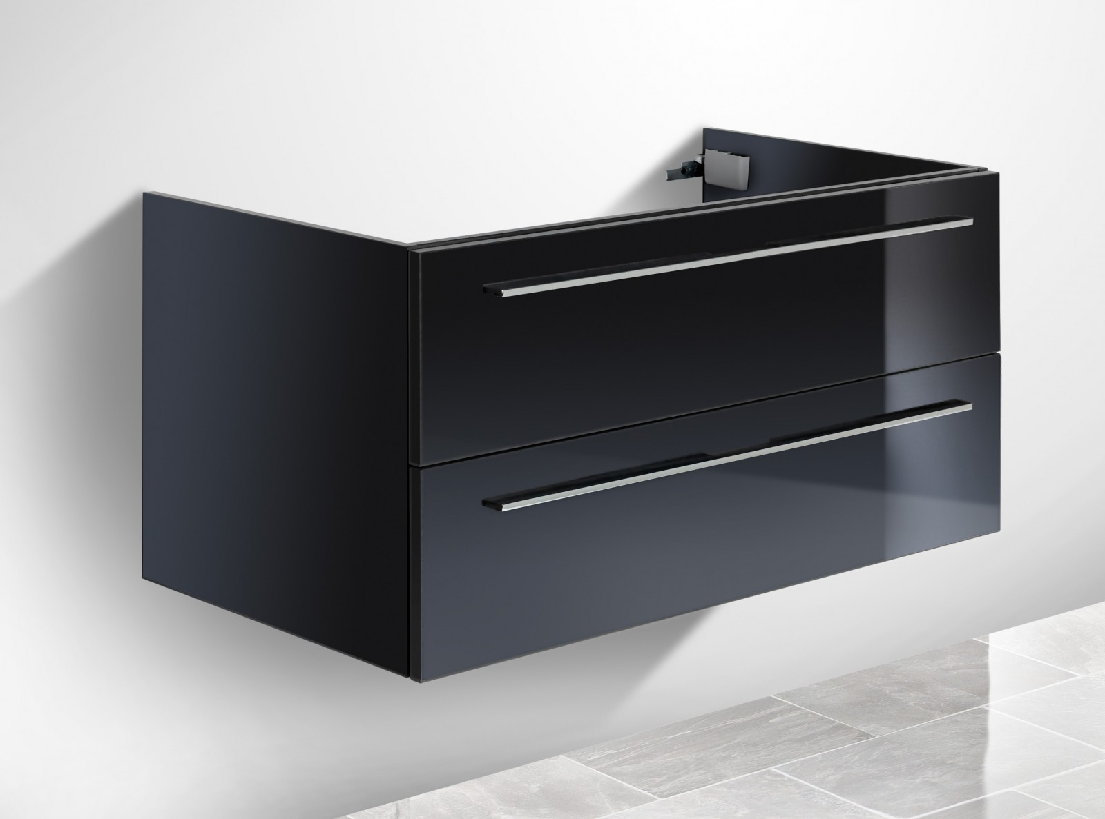 unterschrank f r duravit vero 60 cm waschbeckenunterschrank. Black Bedroom Furniture Sets. Home Design Ideas