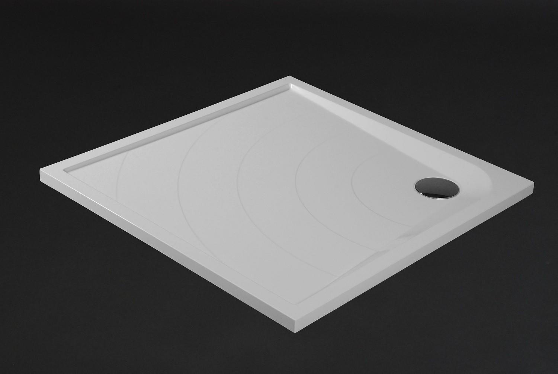 duschwanne 90x90cm siena mineralguss viereck flach. Black Bedroom Furniture Sets. Home Design Ideas
