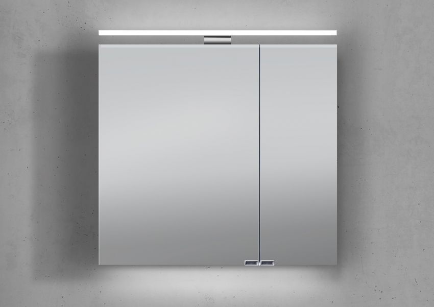 spiegelschrank 70 cm led beleuchtung doppelseitig verspiegelt, Badezimmer ideen