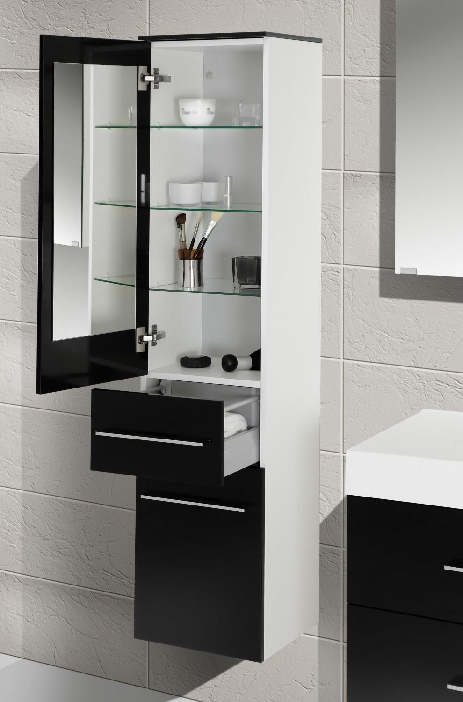 Design badm bel set spiegelschrank 120 cm - Designer badmobel ...