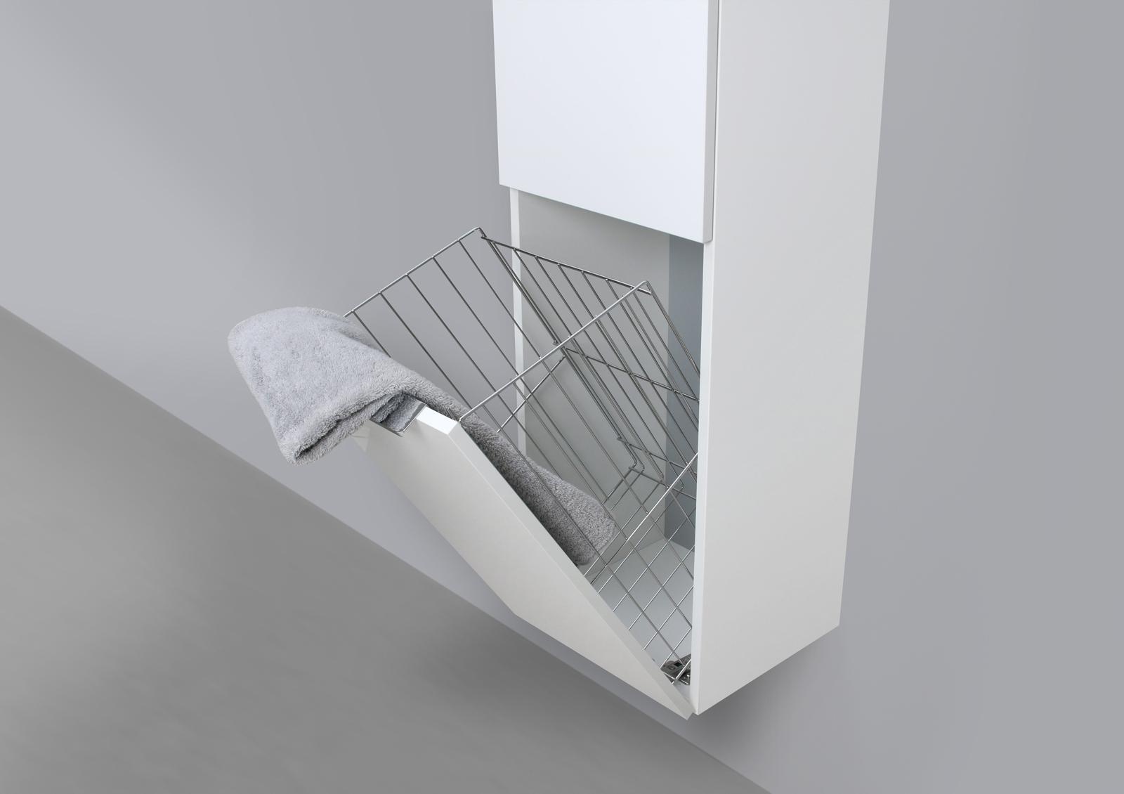 Hochschrank Seitenschrank Mit Waschekippe H B T 161 6 40 32 5cm