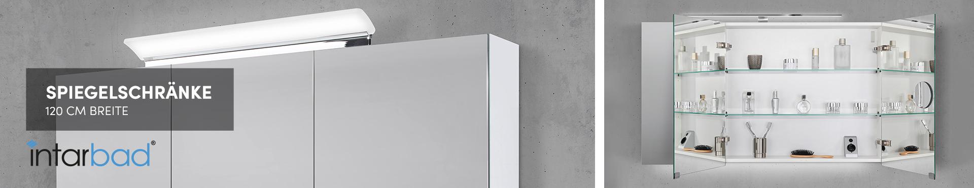 120 cm Spiegelschränke