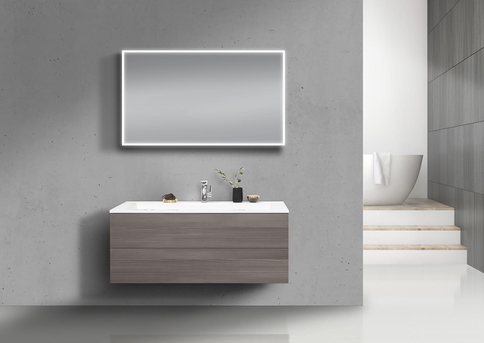 intarbad cubo badm bel set grifflos 120 cm waschtisch mit. Black Bedroom Furniture Sets. Home Design Ideas