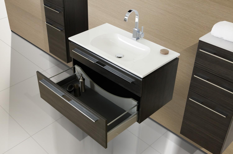 badm bel set mit lichtspiegel und waschbecken 90 cm 826. Black Bedroom Furniture Sets. Home Design Ideas