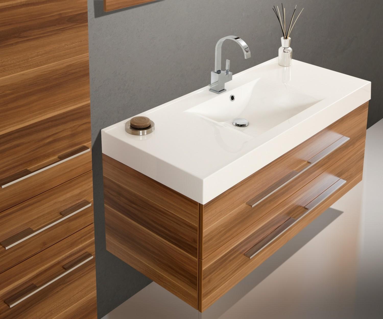 design badm bel set waschbecken waschtisch 120 cm. Black Bedroom Furniture Sets. Home Design Ideas