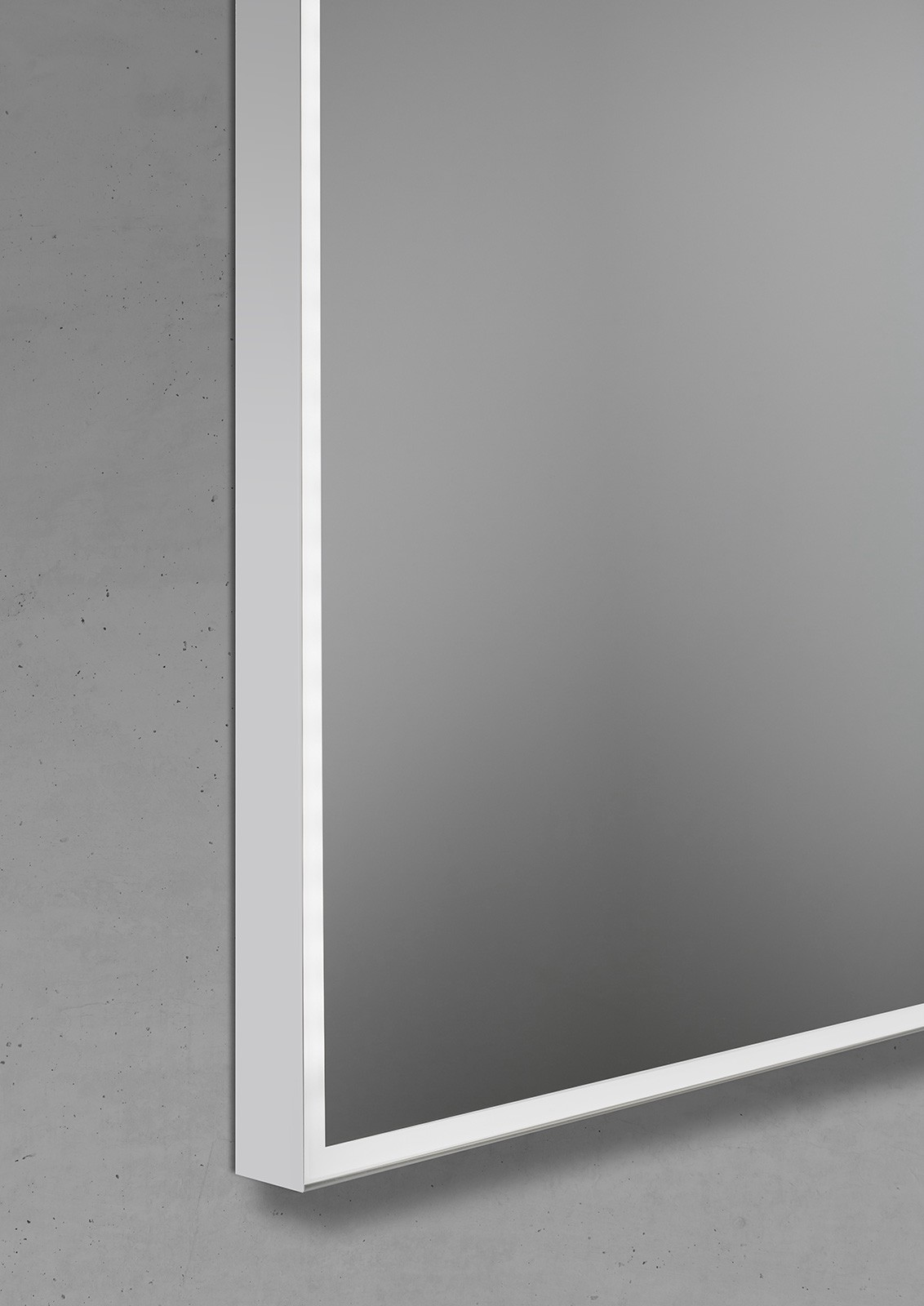 badspiegel mit led beleuchtung 90x70cm lichtspiegel. Black Bedroom Furniture Sets. Home Design Ideas