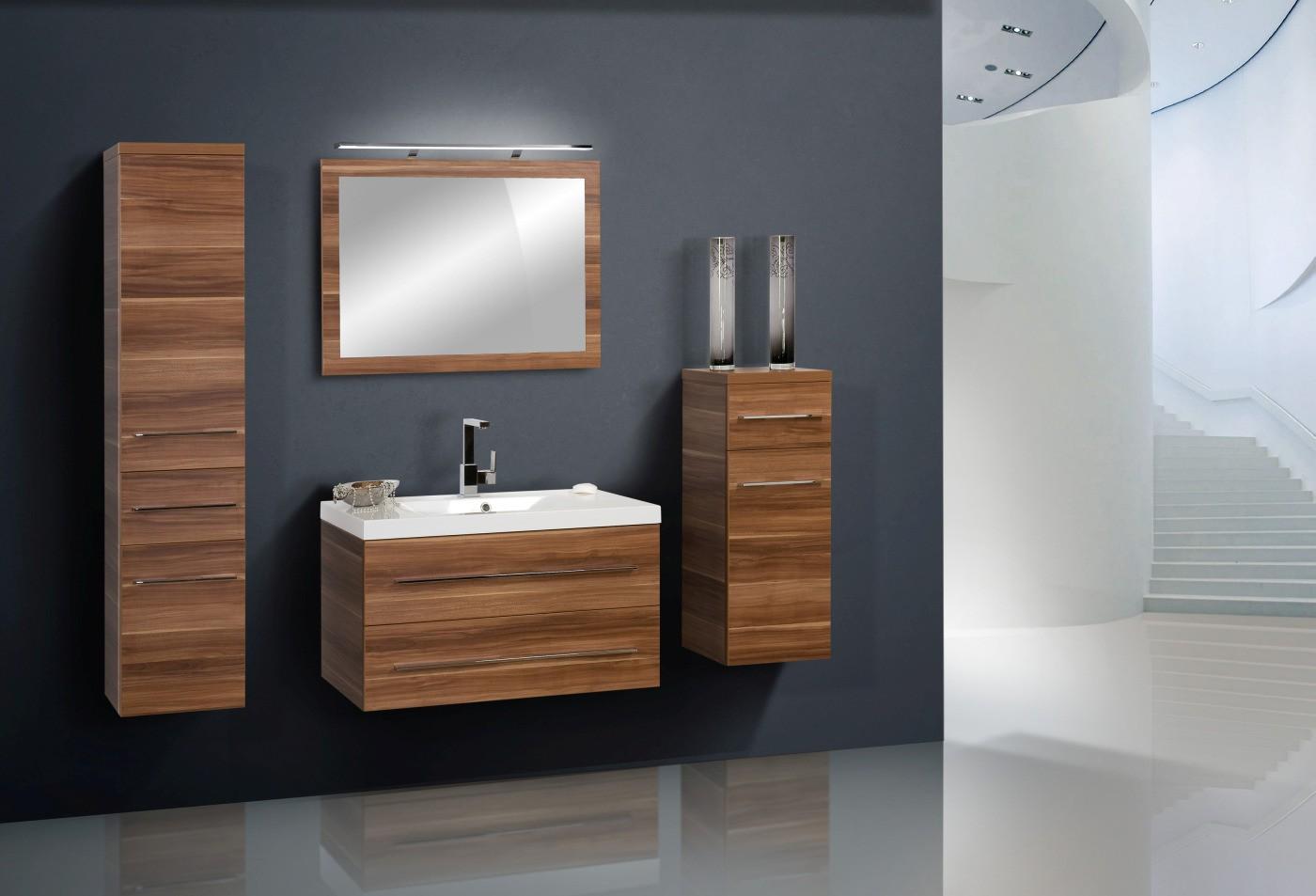 Badmobel 90 Cm ~ Design badmöbel set lichtspiegel 90cm waschbecken designbaeder.com