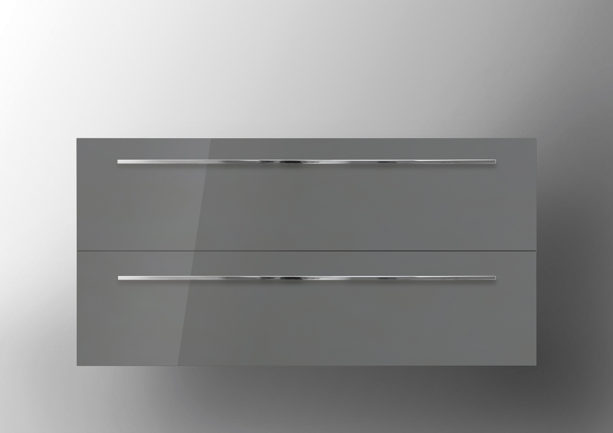 Grau Hochglanz Lack