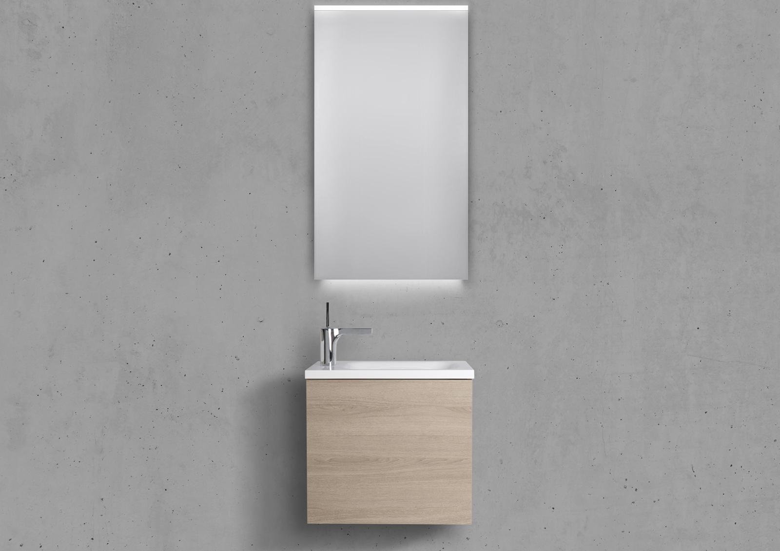 g ste wc badm bel rimini grifflos g ste waschplatz 50 cm. Black Bedroom Furniture Sets. Home Design Ideas