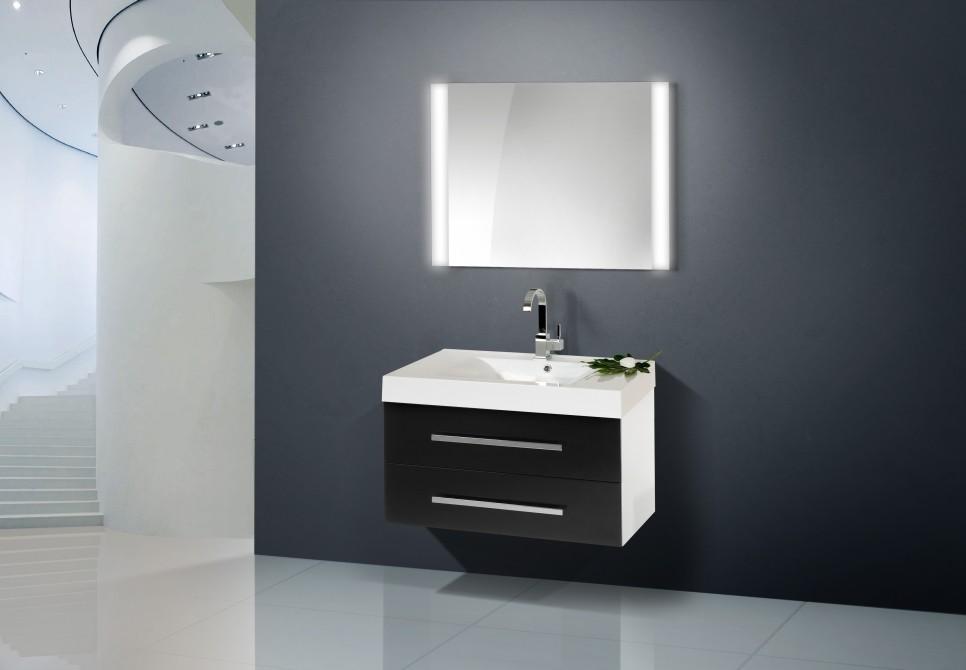 design badezimmerm bel set mit waschbecken 90 cm 633. Black Bedroom Furniture Sets. Home Design Ideas