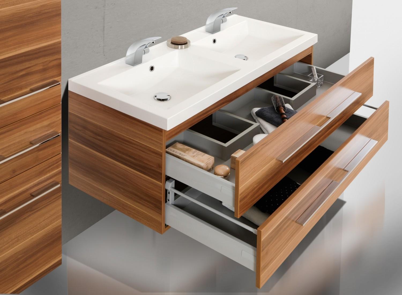 Design badm bel doppelwaschtisch 120 cm - Designer badmobel ...
