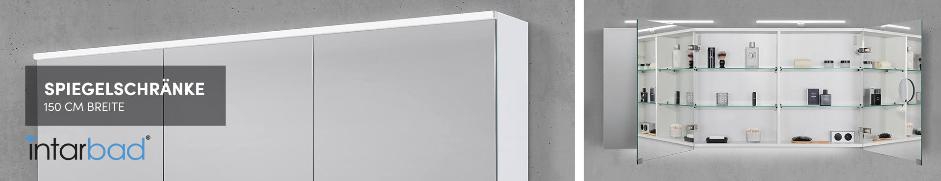 150 cm Spiegelschränke