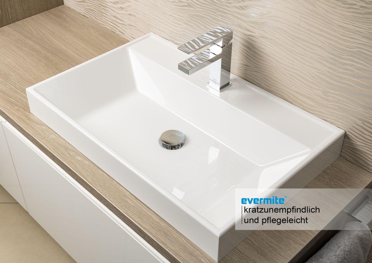 badm bel waschtischplatte nach ma mit unterbau ohne aufsatzbecken ebay. Black Bedroom Furniture Sets. Home Design Ideas