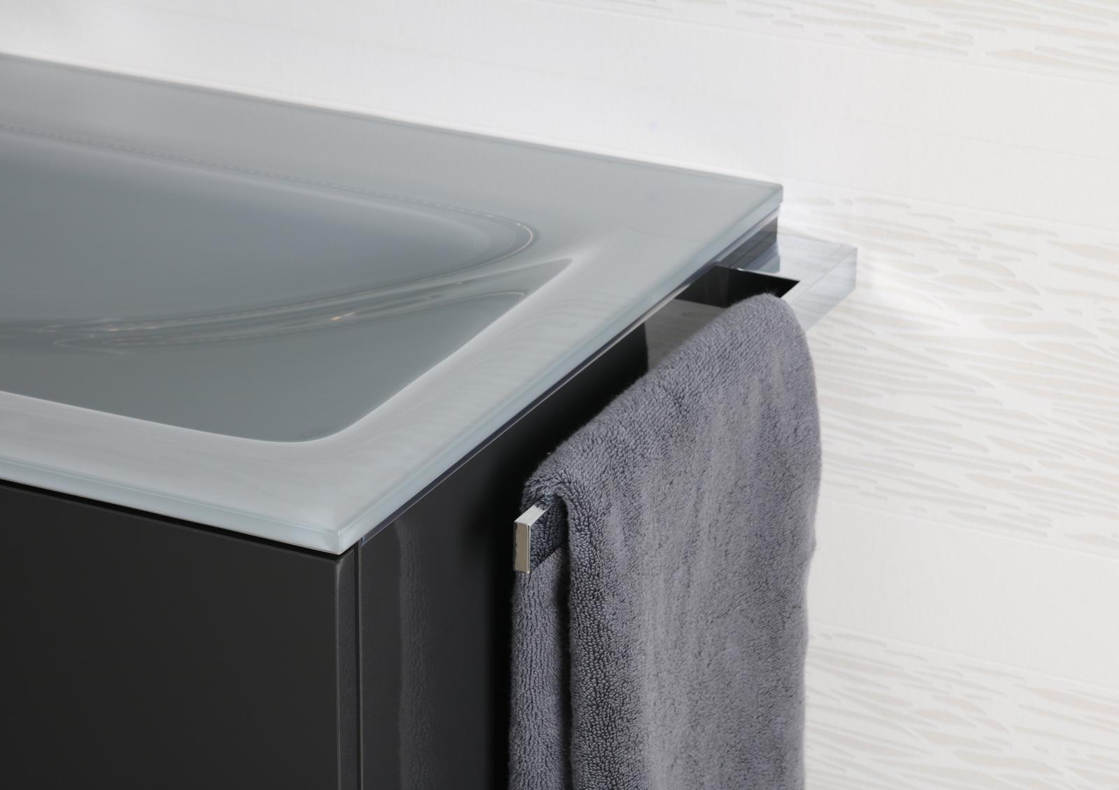 handtuchhalter bad chrom design handtuchstange bad accessoires badetuchstange. Black Bedroom Furniture Sets. Home Design Ideas