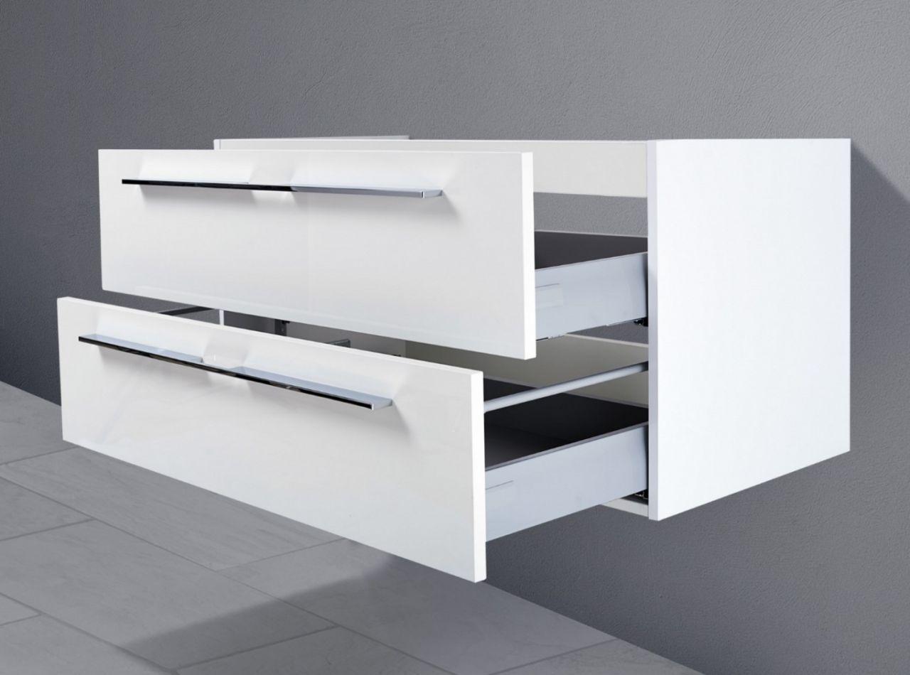 waschtisch unterschrank zu keramag xeno 120 cm waschbeckenunterschrank wei ho ebay. Black Bedroom Furniture Sets. Home Design Ideas