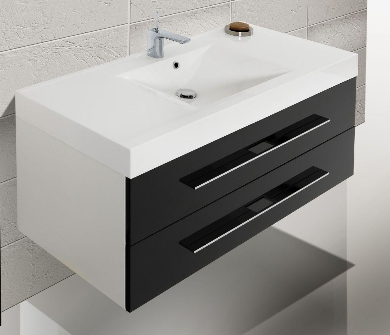 design badm bel set waschbecken 120 spiegelschrank. Black Bedroom Furniture Sets. Home Design Ideas