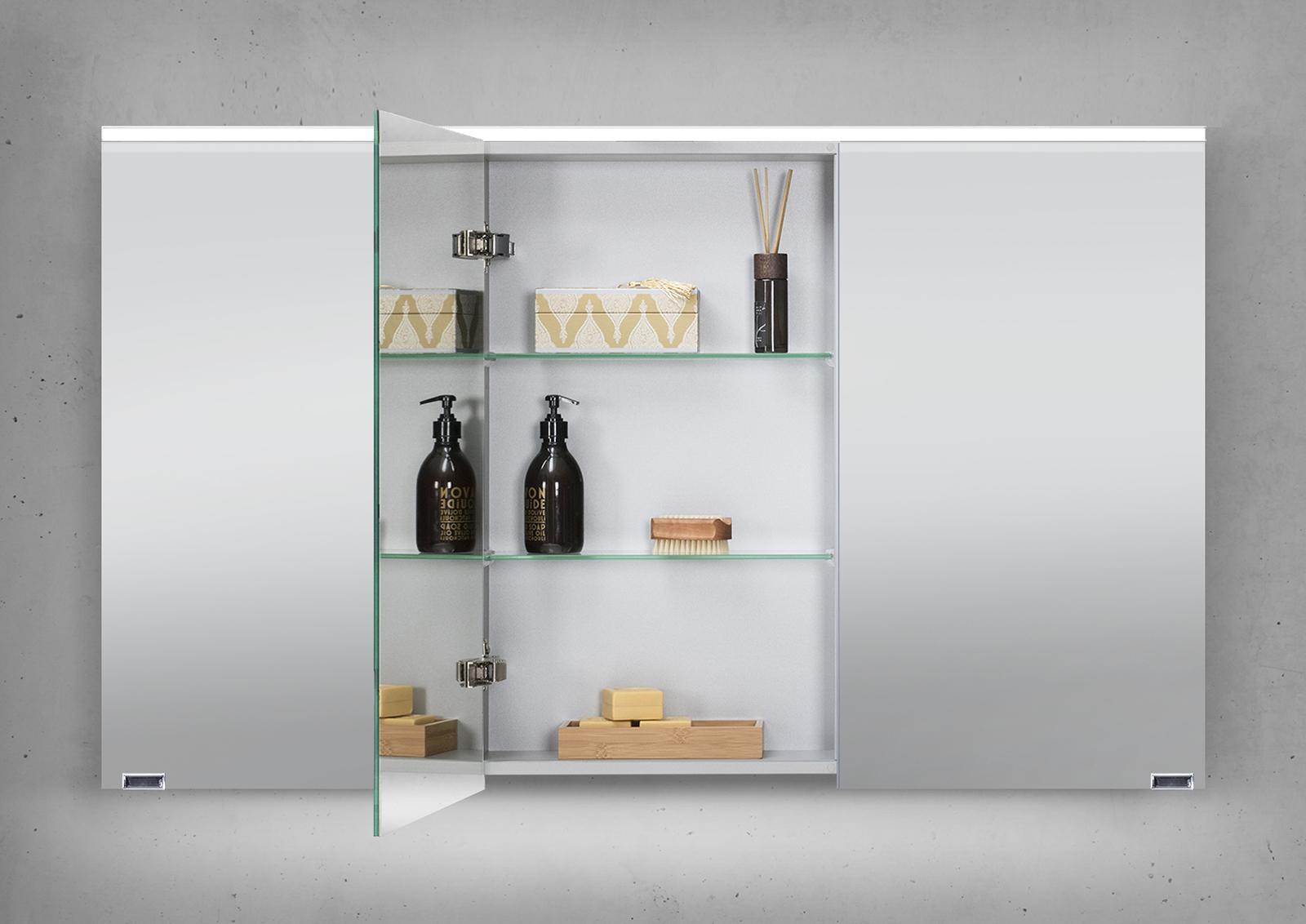 glaswaschtisch 120 cm badm bel set mit unterschrank und. Black Bedroom Furniture Sets. Home Design Ideas