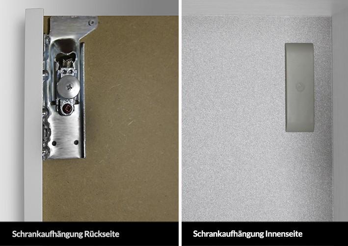 Bad Hochschrank Seitenschrank H B T 151 6 60 32 5cm Weiss Hochglanz
