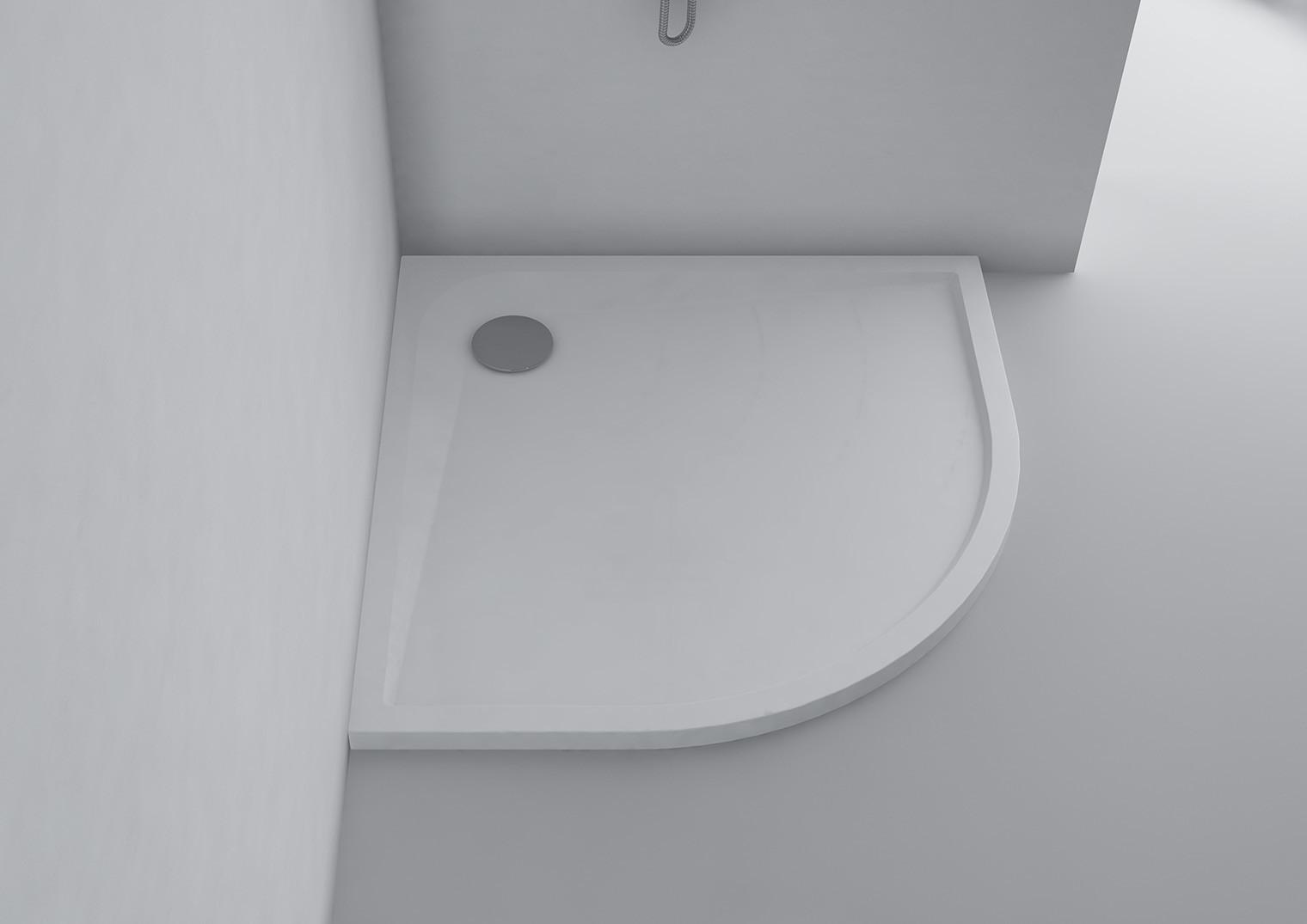 duschwanne 90 x 90 x 3 cm siena mineralguss duschtasse flach