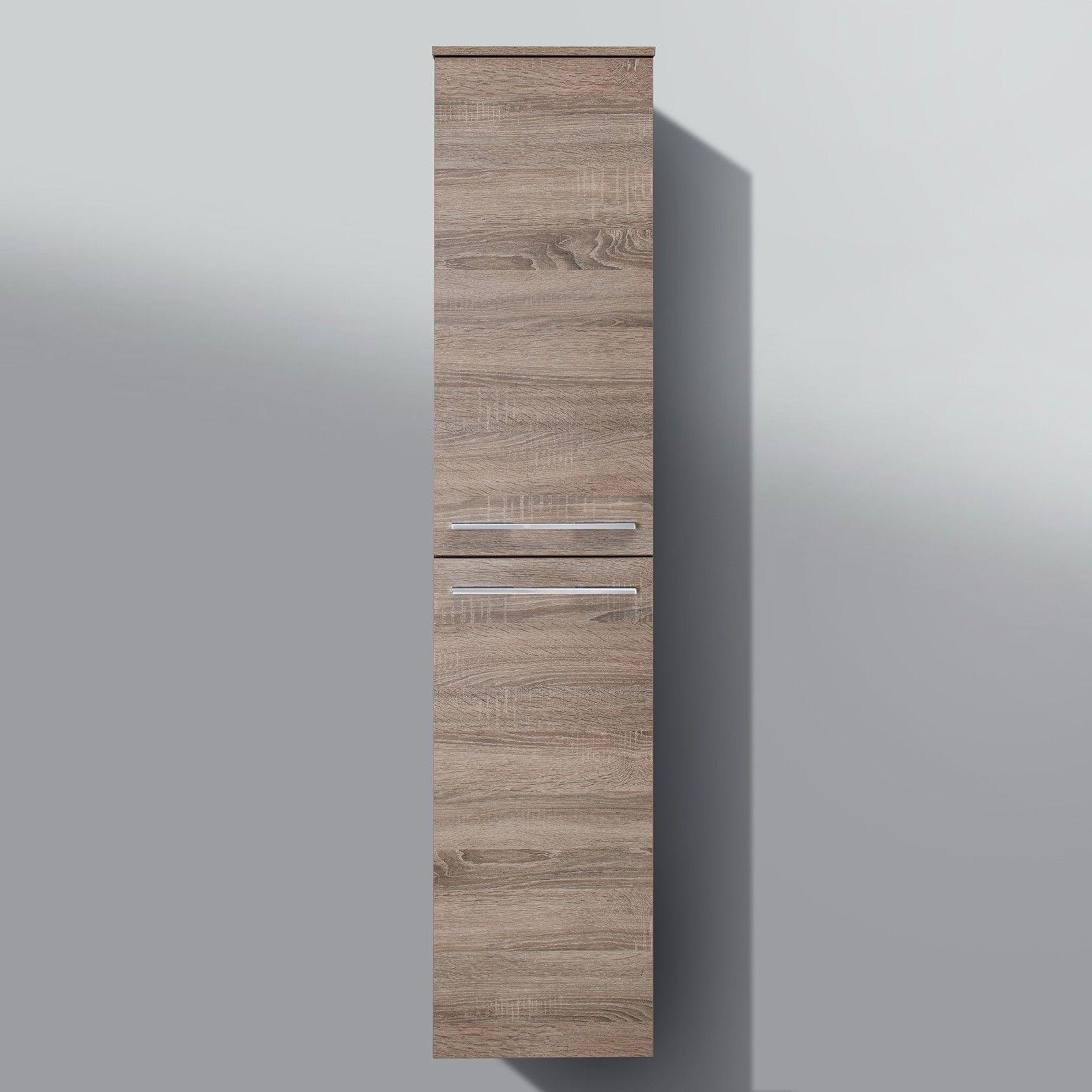 Badmöbel hochschrank  Bad Hochschrank Badmöbel Maße: H/B/T 160/35/33 cm komplett ...