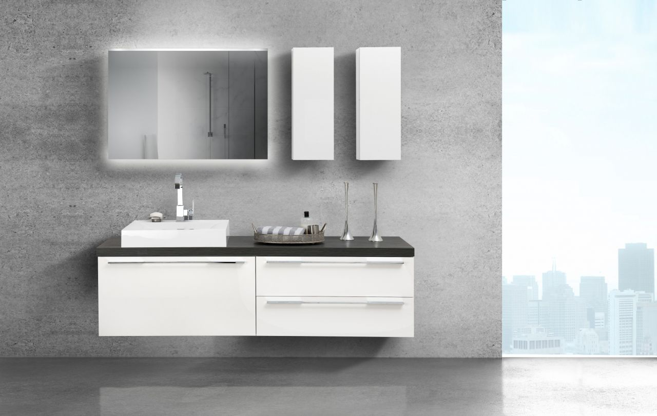 pinie stahl badm bel sets online kaufen m bel. Black Bedroom Furniture Sets. Home Design Ideas