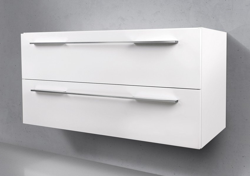Unterschrank zu Geberit Keramag iCon 90 cm Ablagefläche links | Wohnzimmer > Schränke > Weitere Schränke | Intarbad