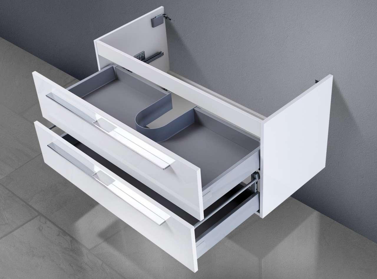 waschtisch unterschrank zu laufen pro waschtisch 85 cm waschbeckenunterschrank ebay. Black Bedroom Furniture Sets. Home Design Ideas