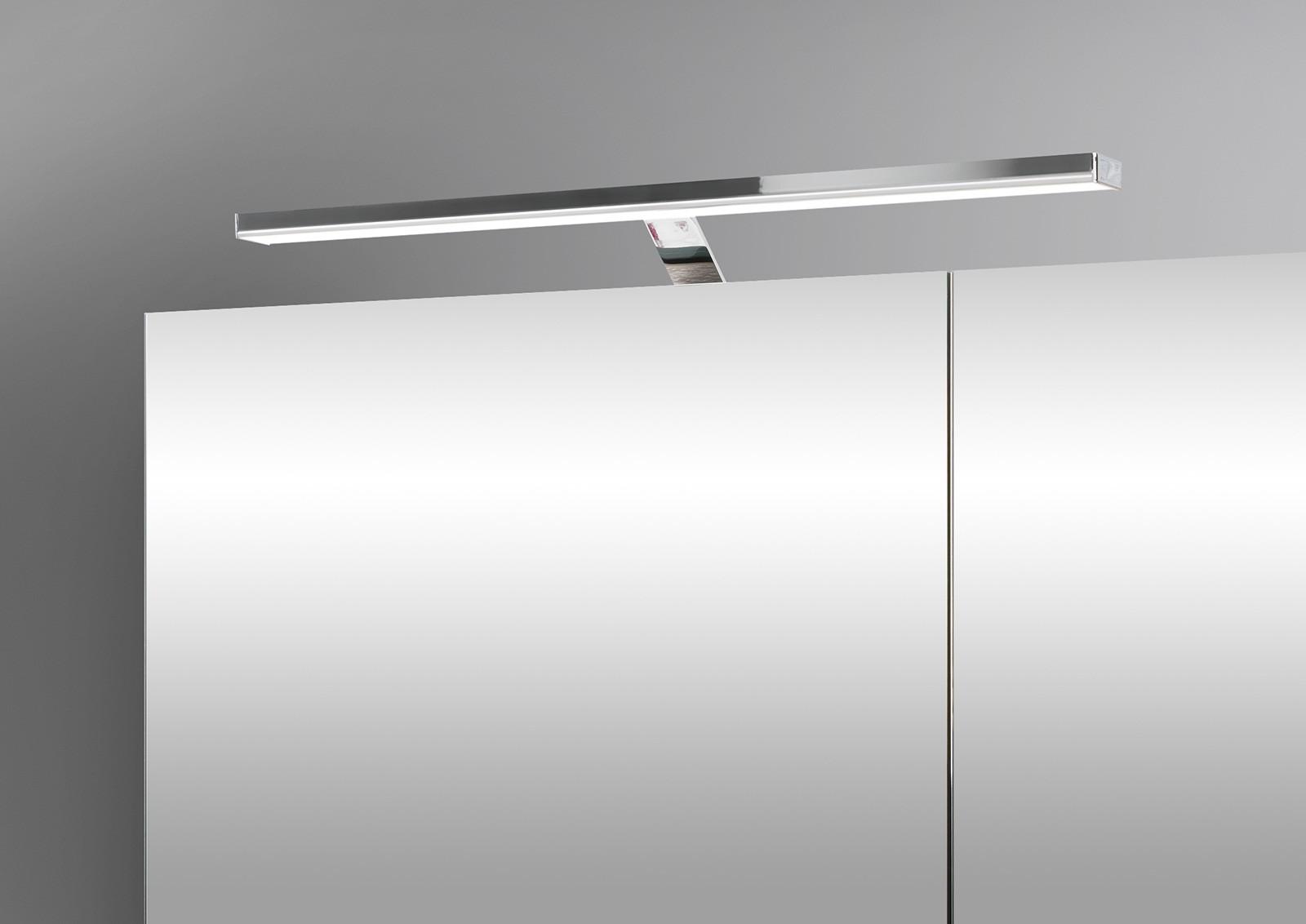 Spiegelschrank bad 80 cm led beleuchtung doppelseitig verspiegelt 5191 - Spiegelschrank bad 80 cm ...