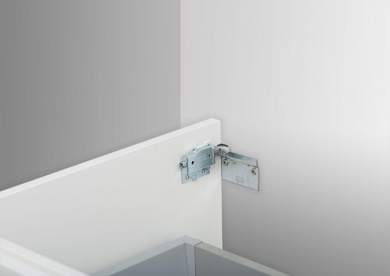 waschtisch unterschrank zu villeroy boch subway 2 0 80 cm mit kosmetikeinsatz ebay. Black Bedroom Furniture Sets. Home Design Ideas