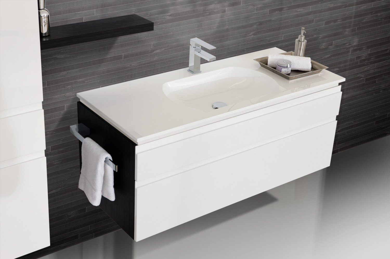 badm bel set mit lichtspiegel und waschbecken 120 cm 827. Black Bedroom Furniture Sets. Home Design Ideas